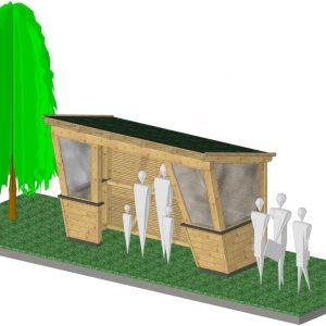 Pavillons, Wartehäuschen & Pergolen